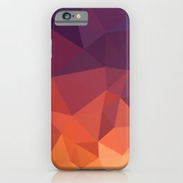 Abstract Geometric Poly #2 iPhone Case