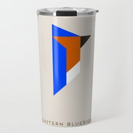 Eastern Bluebird Travel Mug