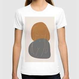 Line Female Figure 81 T-shirt