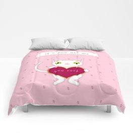 You Suck Comforters
