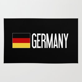Germany: Germany & German Flag Rug