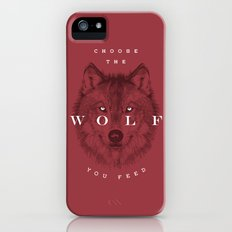 Choose the Wolf You Feed Slim Case iPhone (5, 5s)