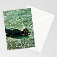 SEA LION in AQUATIC DREAMING WORLD  Stationery Cards
