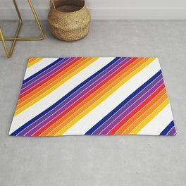 Rainbow Candy Stripe Rug