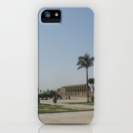 Temple of Luxor, no. 7 iPhone Case