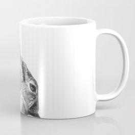 Black and white rabbit Coffee Mug