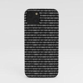 Binary Code iPhone Case