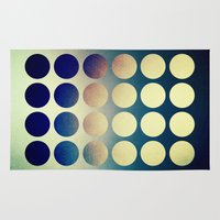 introvert Area & Throw Rugs featuring Introvert/Extrovert - 2 by Elisabeth Fredriksson