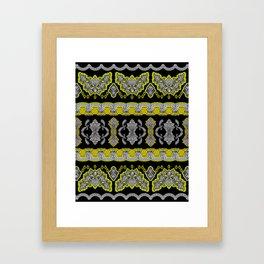 Illustrative Border Framed Art Print