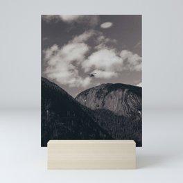 Alaska Mountains Mini Art Print