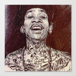 Wiz Khalifa Canvas Print