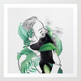 Rain forest. Art Print