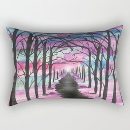 The endless forest Rectangular Pillow