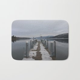 Lake George Dock Bath Mat