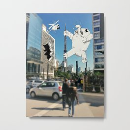 Monsters at Sampa Metal Print