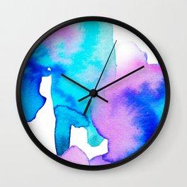 Watercolor 01 Wall Clock