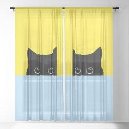 Kitty Sheer Curtain