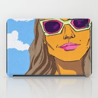 eternal sunshine of the spotless mind iPad Cases featuring sunshine state of mind by MCHJ