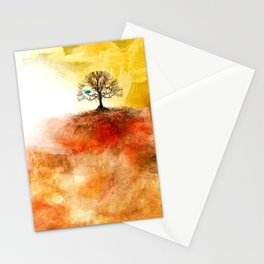 Aging Hearts Stationery Cards