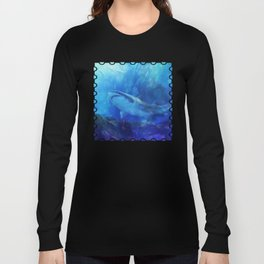 Make Way for the Great White Shark King  Long Sleeve T-shirt