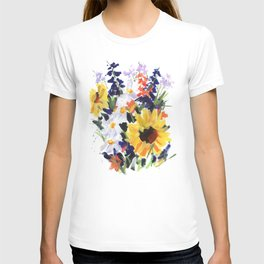 Sunflower Bouquet T-shirt