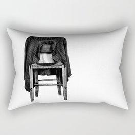 rustic chair Rectangular Pillow
