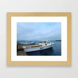 Ready to Go Fishing Framed Art Print