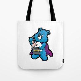 TEDDY BEAR MAGICIAN Wizard Sorcerer Magic Magus Tote Bag