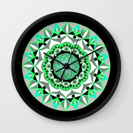 My Mandhala | Secret Geometry | Energy Symbols Wall Clock
