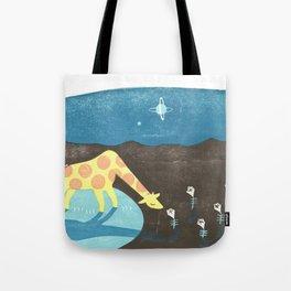 Lonesome Giraffe Tote Bag