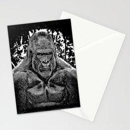 Primate Models: Mad Gorillas 01-02 Stationery Cards