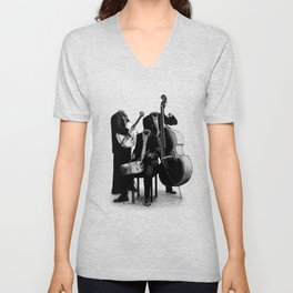 The Invisibles (On Grey) Unisex V-Neck