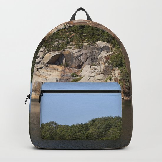 Flat Ledge Quarry Panorama Backpack