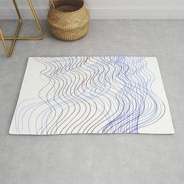 Waves Lines Rug
