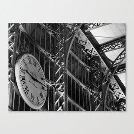 Liverpool Lime Street Train Station Canvas Print