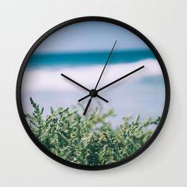 Ocean Dune Garden Wall Clock