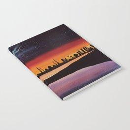 Abu Dhabi, watercolor Notebook