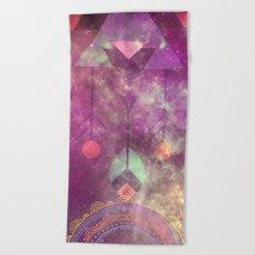 Magical Bohemian Beach Towel