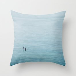 Ocean Calm Throw Pillow