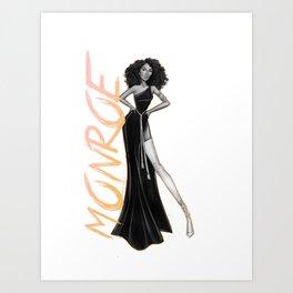 Monroe Bishop Art Print