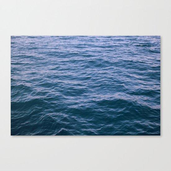 Sea - Water - Ocean Canvas Print