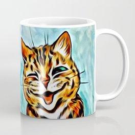 "Louis Wain's Cats ""Winking Cats"" Coffee Mug"