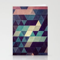 blankets Stationery Cards featuring cryyp by Spires
