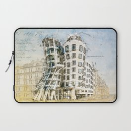 Dancing House, Prague Laptop Sleeve