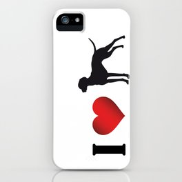 i ♥ vizsla iPhone Case