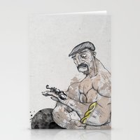 knight Stationery Cards featuring Knight by Crooked Octopus