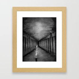 The nightmare Framed Art Print