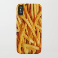 fries iPhone & iPod Cases featuring Fries by Maioriz Home