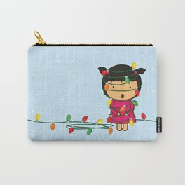 Fairy Lights on Winter Nights. Carry-All Pouch
