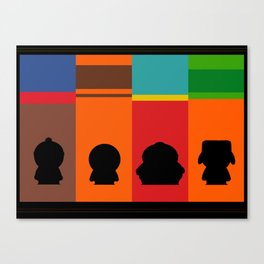 SouthPark: Meet Some Friends of Mine Canvas Print